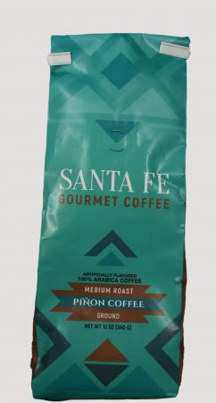 Santa Fe Gourmet Coffee Pinon Ground 12 Ounce
