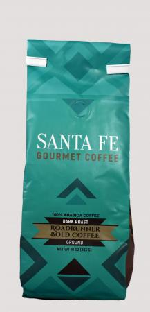 Santa Fe Gourment Coffee Roadrunner Ground 12 Ounce