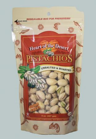 Unsalted And Roasted Eight Ounce Bag