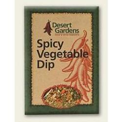 Desert Gardens Spicy Vegetable Dip