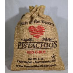 Red Chile Eight Ounce Burlap Bag